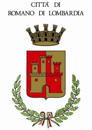 Stemma città di Romano di Lombardia